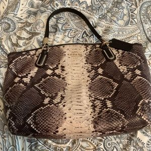 b2ae6331cf6 Women Coach Snakeskin Shoulder Bag on Poshmark